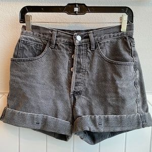 Vintage GUESS High Wasted Denim Cuffed Shorts